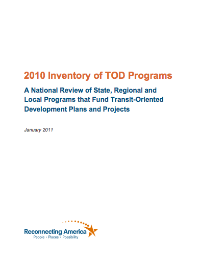 2010 Inventory of TOD Programs